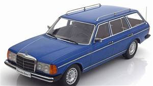 Mercedes 250T W123 estate 1978-1982 bluemetallic Limited Edition 1500 pcs.