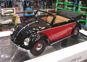 VW Käfer Convertible 1949 black/darkred Limited Edition 504 pcs.