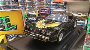 Pontiac Firebird Trans Am Kill Bill I & II 1979 black