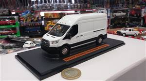Ford Transit delivery van 2017 white