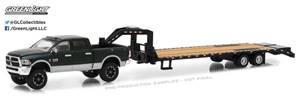Dodge RAM 2500 w/ Gooseneck Trailer, Black