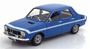 Renault 12 Gordini 1971 blue white