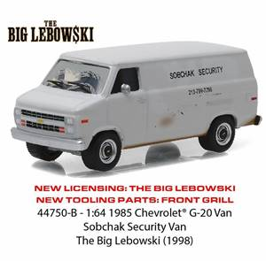 1985 Chevrolet G-20 Sobchak Security Van from The Big Lebowski