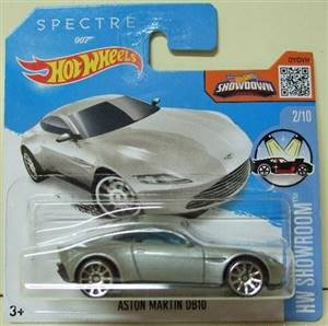 aston martin db10 spectre james bond 1/64 hotwheels
