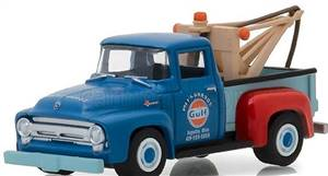 FORD USA - F-100 PICK-UP GULF 1956 CARRO ATTREZZI - WRECKER ROAD SERVICE
