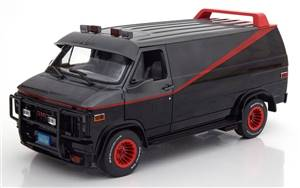 GMC Vandura Van A-Team 1983 black grey red