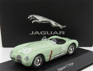 JAGUAR - C-TYPE WINNER N 50 GP REIMS 1952 STIRLING MOSS
